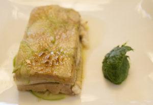 Berasategui 7 foie gras met paling