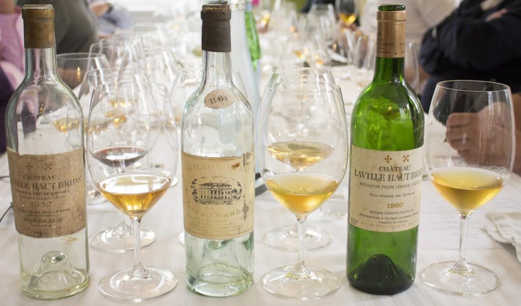 3 Wijn 3x bordeaux wit oud