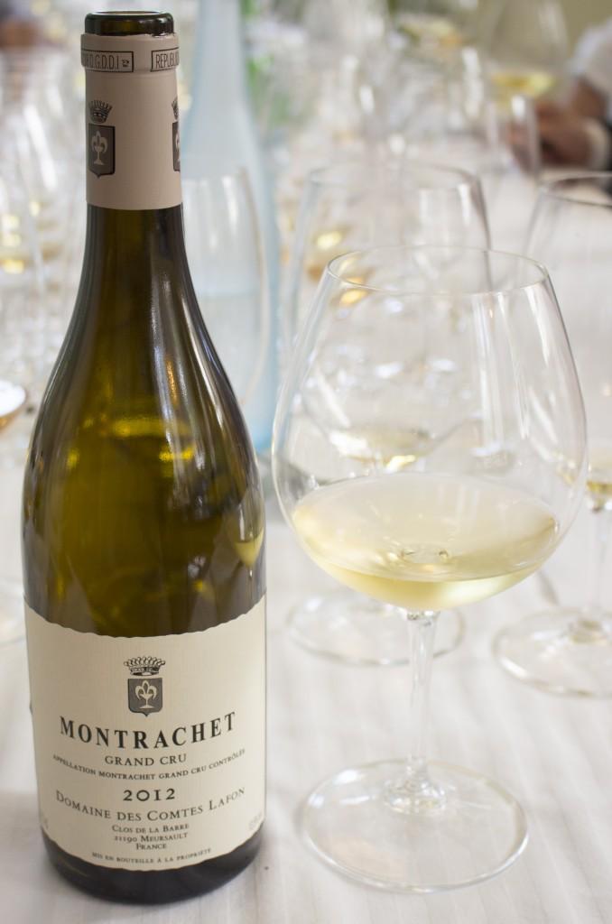 4 Wijn Lafon Montrachet 2012