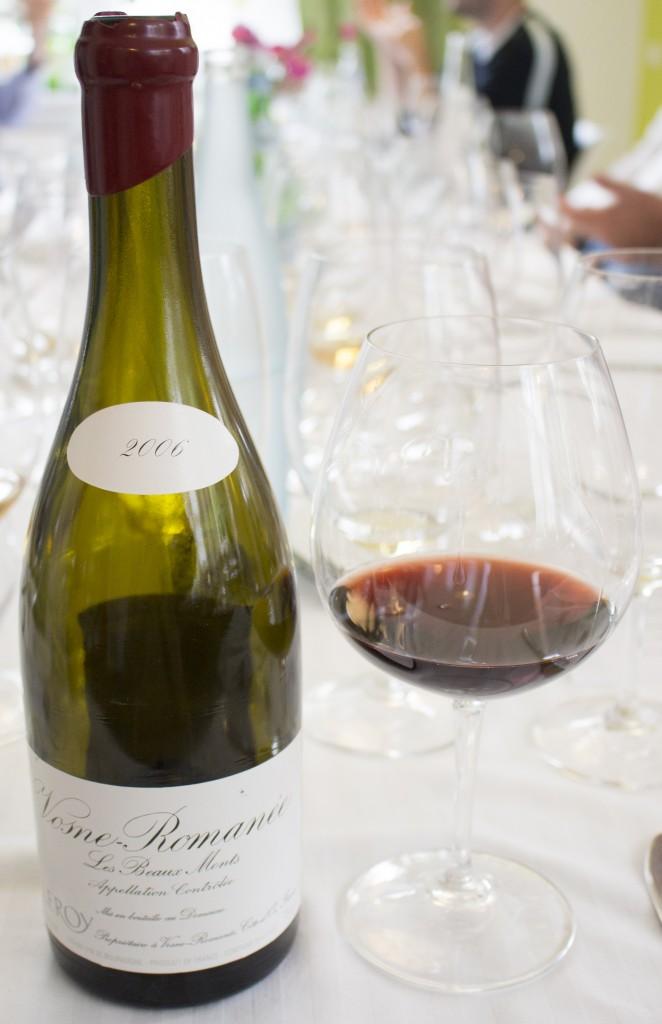 5 Wijn Leroy Vosne Beaux Monts 2006