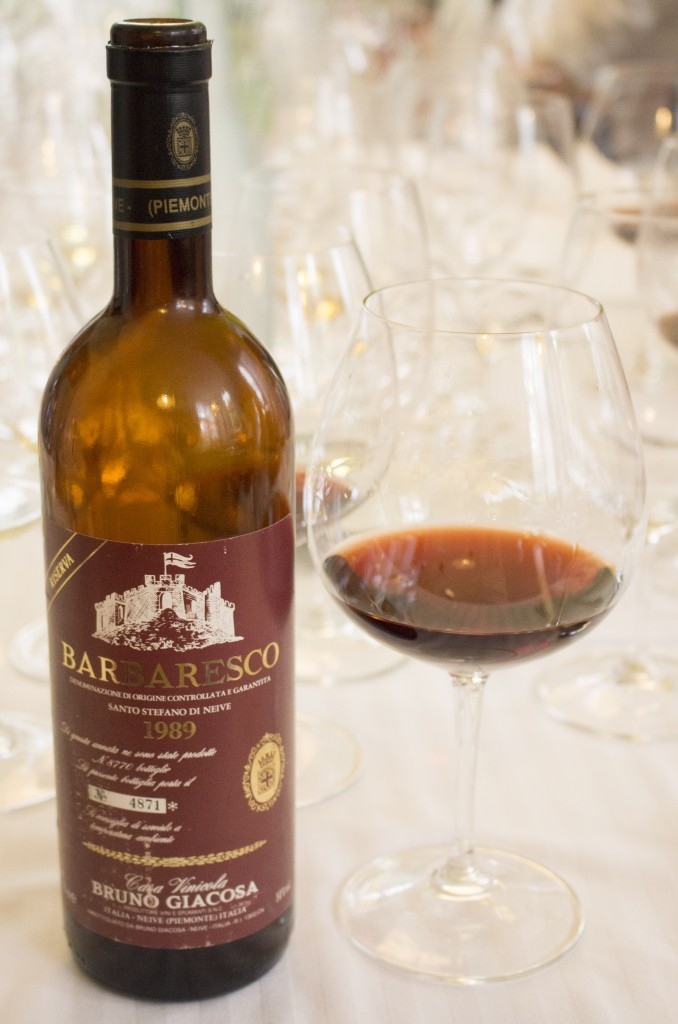 6 Wijn Giacosa S Stefano 1989