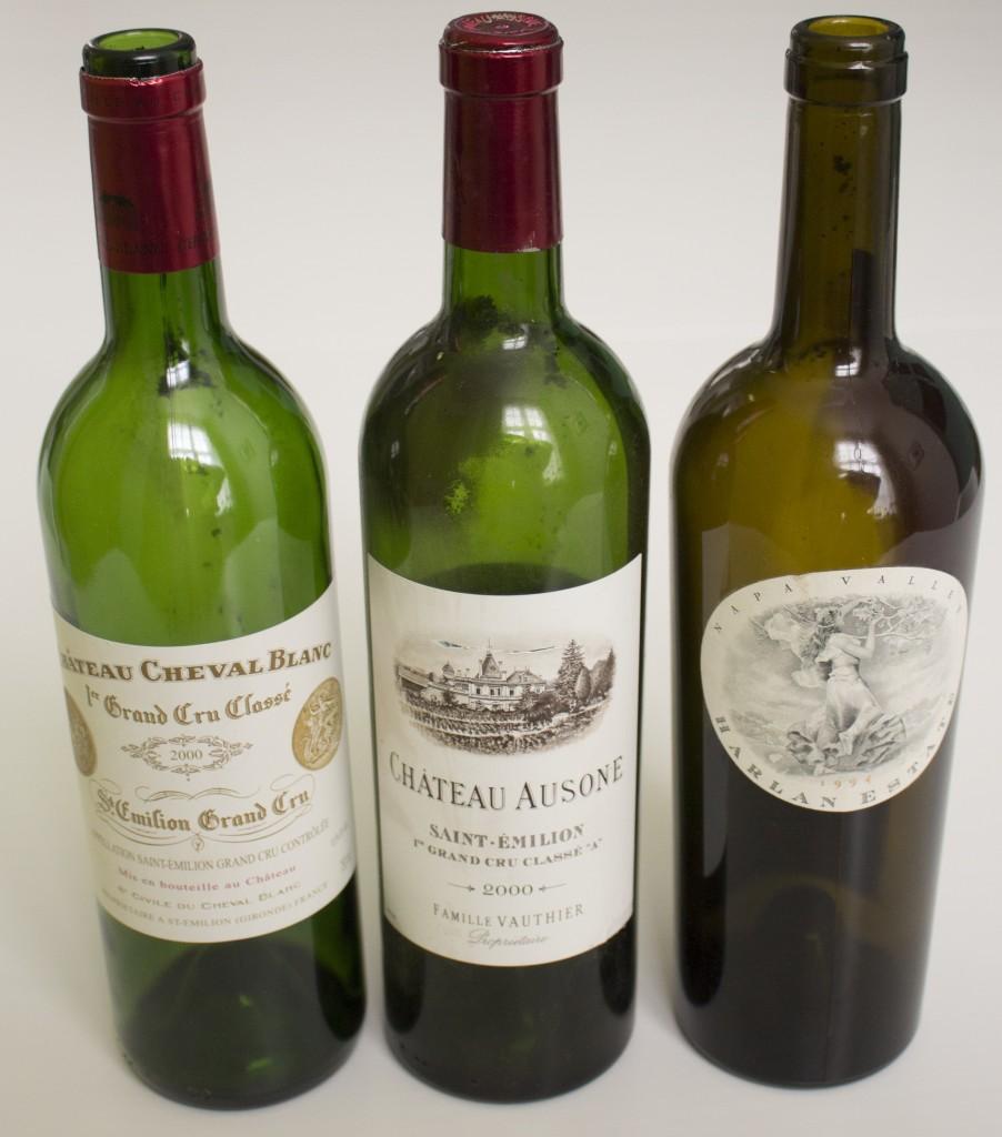 7 Wijn Cheval Blanc en Ausone 2000 Harlan 1994