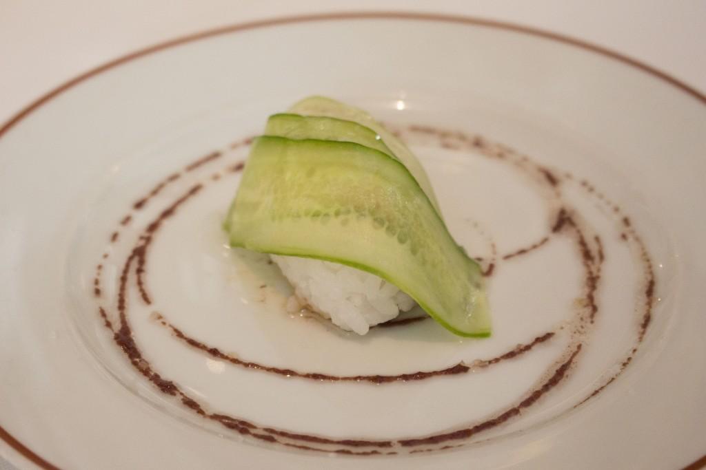 9 Sushi met komkommer