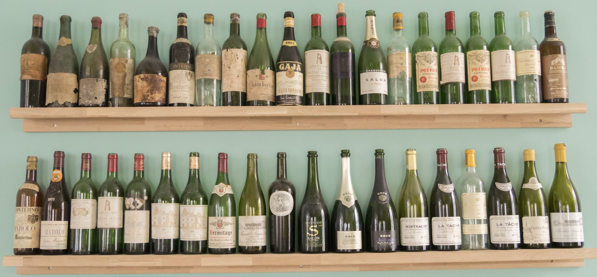 Menu en wijnkaart