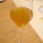 Glas wijn uit 1735, opgedoken uit het wrak van 't Vliegend Hert