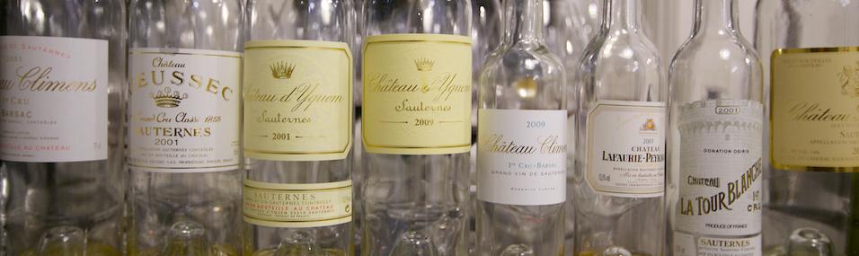 Wijn en spijs combineren: zoete wijnen