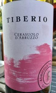 Cerasuolo d'Abruzzo 2016 van Tiberio